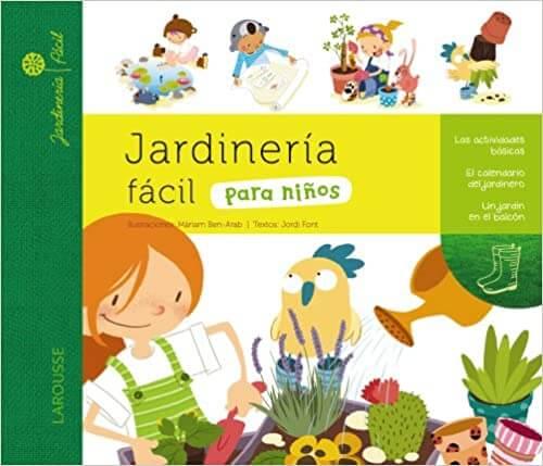 libro de jardineria para niños