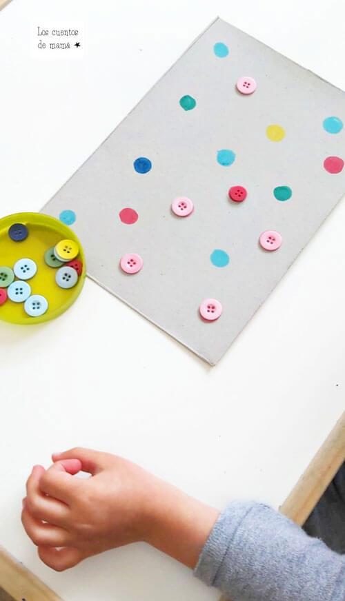como enseñar los colores a los niños