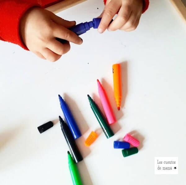actividades para niños para que aprendan los colores