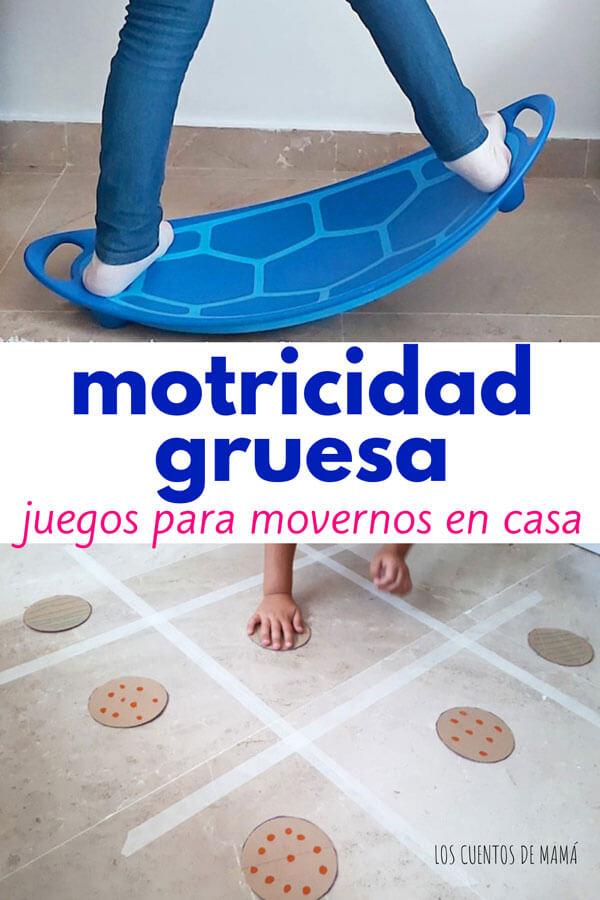 actividades de motricidad gruesa para niños