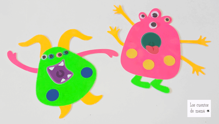 manualidades con pegatinas para niños