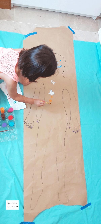 actividad de dibujo para niños