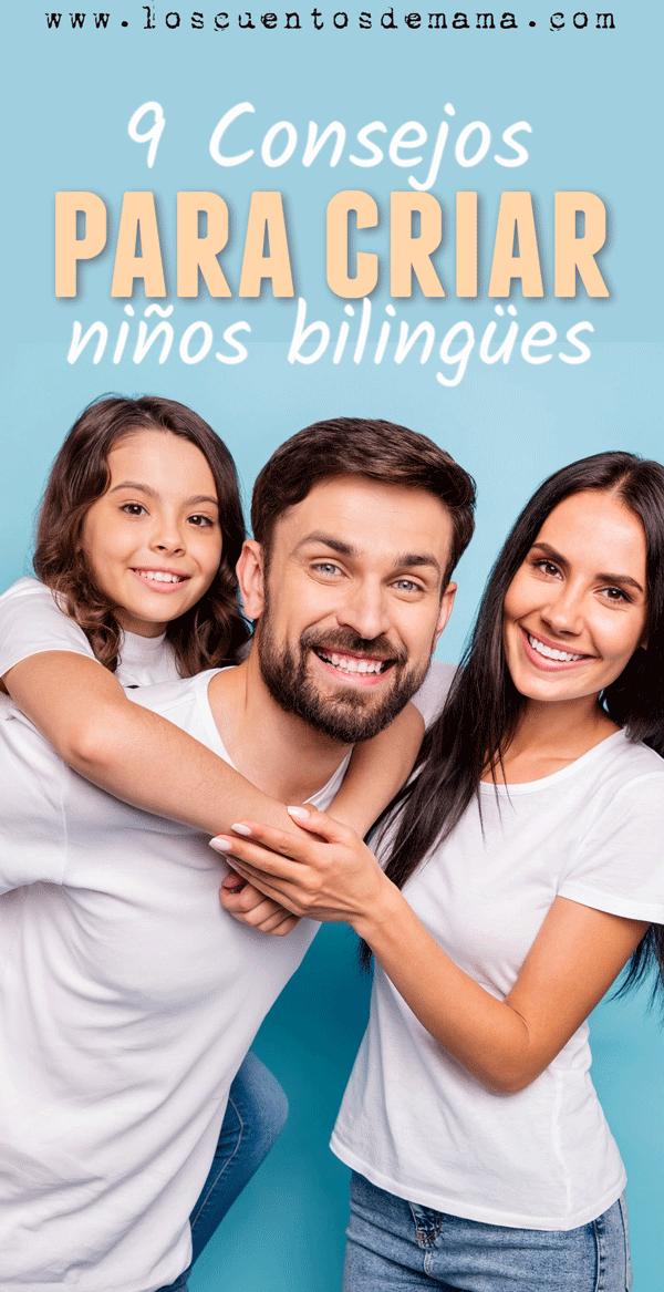 como criar niños bilingües