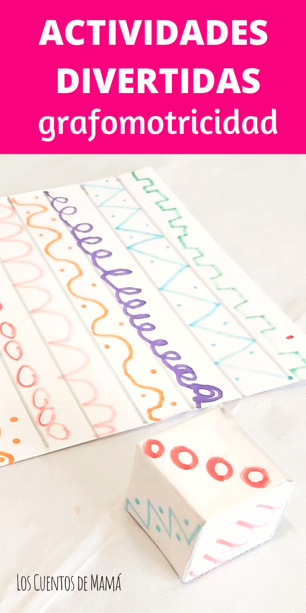 actividades de grafomotricidad para niños