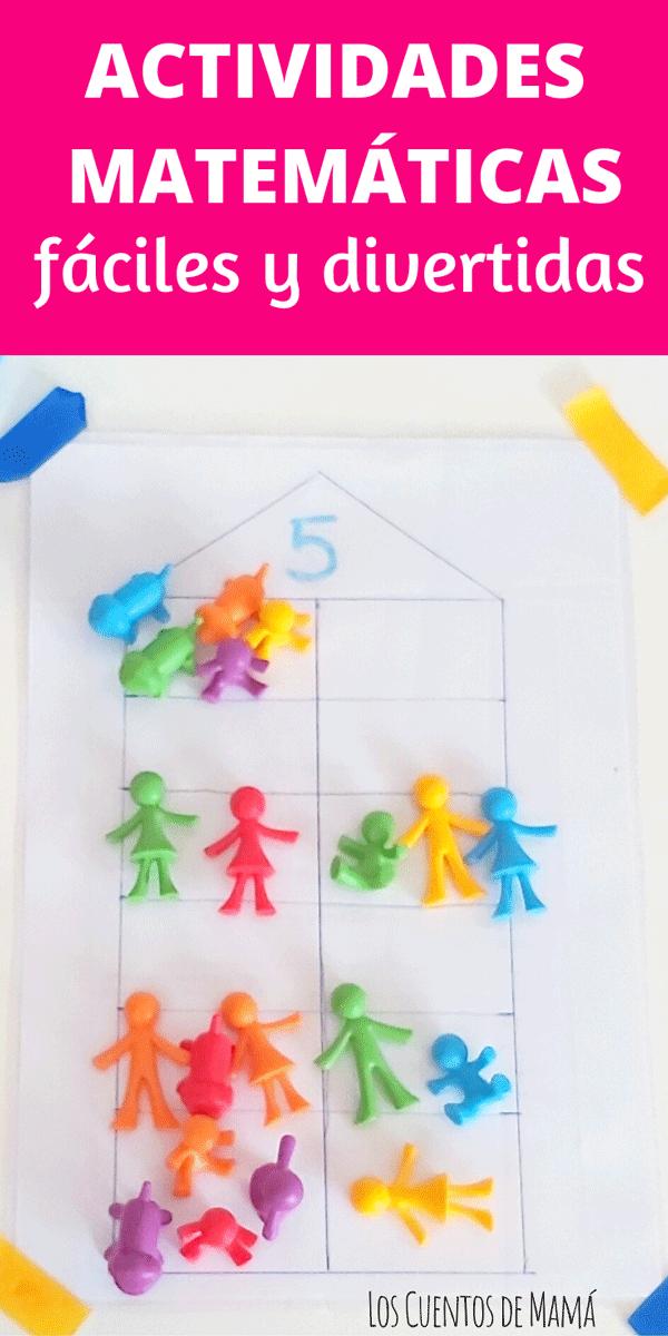 actividades de matematicas y de logica para niños