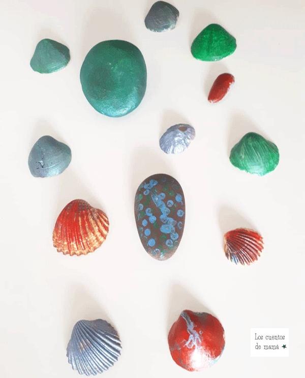 manualidades con conchas